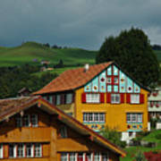 Appenzell Famous Windows Poster