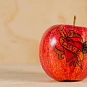 Apple Love Poster
