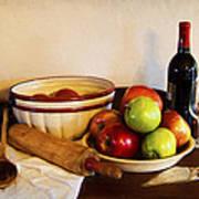 Apple Pie Impressions Poster