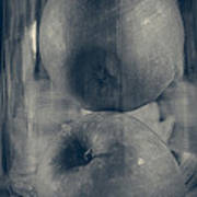 Apples In Glass Poster