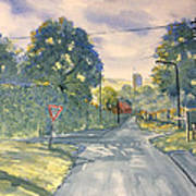 Approach To Kilham Poster