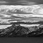Approaching Storm Over Lake Tahoe Poster