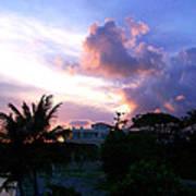 Approaching Storm Palmas Del Mar Poster