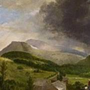 Approaching Storm  White Mountains Poster by Alvan Fisher