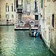Aqua - Venice Poster