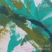 Aqua And Green Poster