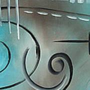 Aqua Mist By Madart Poster
