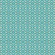 Aqua X Arrangement Poster