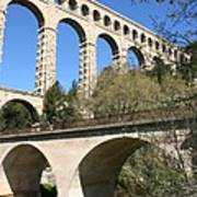 Aqueduct Roquefavour Poster