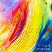 Arabian Desert Rainbow Poster