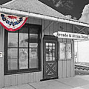 Arcade And Attica Depot Poster