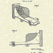 Arcade Game 1936 Patent Art Poster by Prior Art Design
