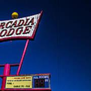 Arcadia Lodge Poster