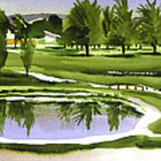 Arcadia Valley Country Club Dramatic Poster
