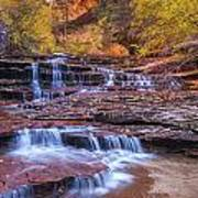 Arch Angel Cascades Poster by Joseph Rossbach