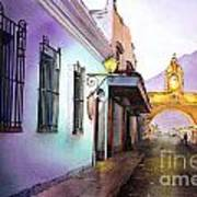 Arch- Antigua Poster