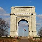 Arch At Valley Forge Poster