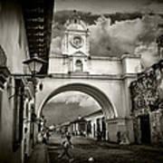 Arch Of Santa Catalina Poster