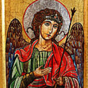 Archangel Michael Icon Poster