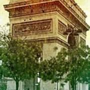 Arche De Triomphe Mood Poster