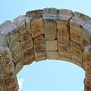 Arched Gate Of The Tetrapylon Poster