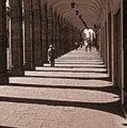 Arched Walk Way       Poster