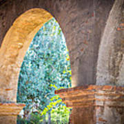 Arches At Mission San Juan Capistrano Poster