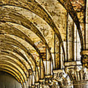 Arches At St Marks - Venice Poster