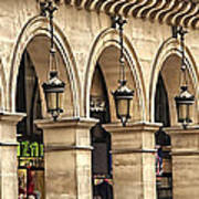Arches In A Row  Poster