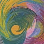 Arches  Swirls Poster