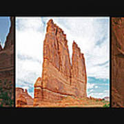 Arches National Park Panel Poster