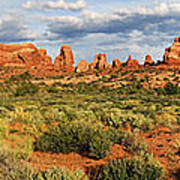 Arches National Park Panorama Poster