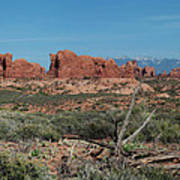 Arches North Window Rock Poster