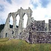 Arches Of Bayham Abbey Poster