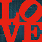 Architectural Love Poster