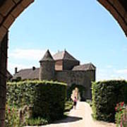 Archway Chateau Of Berze Poster