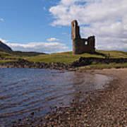 Ardvreck Castle Scotland Poster