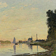 Argenteuil Late Afternoon Poster