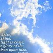 Arise And Shine Poster by Stephanie Grooms