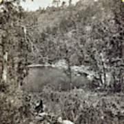 Arizona Apache Lake, 1873 Poster