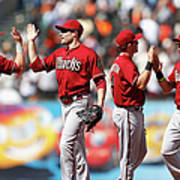 Arizona Diamondbacks V San Francisco Poster