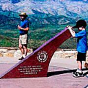 Arizona Highway Patrol Memorial Poster