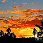 Beautiful Arizona Sunset Poster