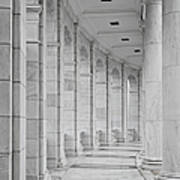 Arlington Amphiteather Arches And Columns Poster
