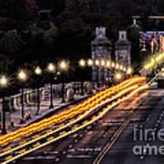 Arlington Bridge And Cemetery Poster