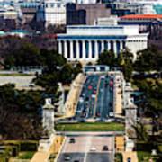 Arlington Memorial Bridge Leads Poster