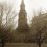 Arlington Street Church Unitarian Universalist Boston Massachusetts Circa 1900 Poster