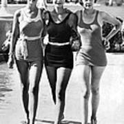 Army Bathing Suit Trio Poster