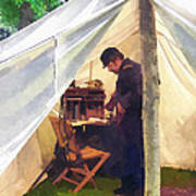 Army - Civil War Officer's Tent Poster
