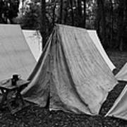 Army Tents Circa 1800s Poster